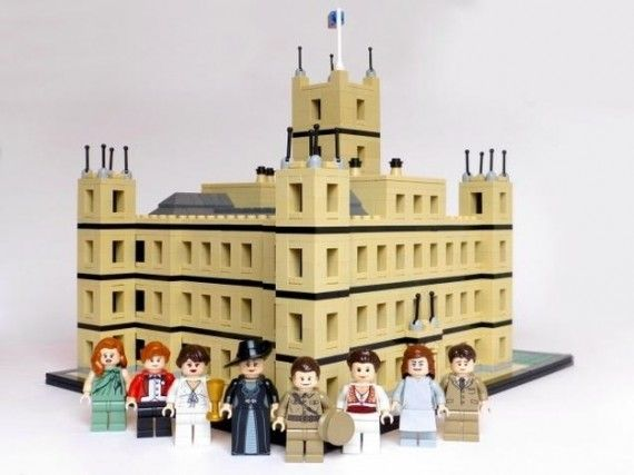 Downton LEGO 570x427 SR Geek Picks: Behind the Scenes Star Wars Photos, LEGO Downton Abbey & More