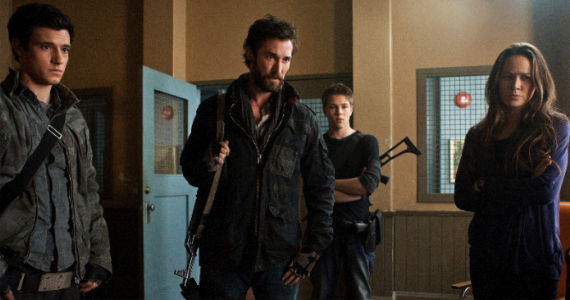 Drew Roy Noah Wyle Connor Jessup Moon Bloodgood Falling Skies Homecoming Falling Skies Season 2, Episode 6: Homecoming Recap