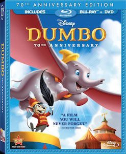 Dumbo Blu ray DVD/Blu ray Breakdown: September 20, 2011