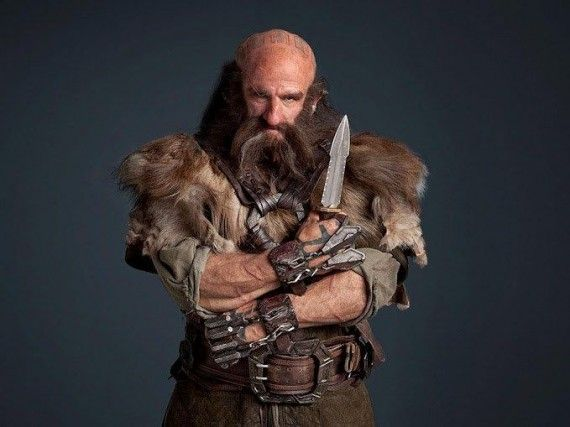 Dwalin the Dwarf The Hobbit 570x427 Dwalin the Dwarf The Hobbit