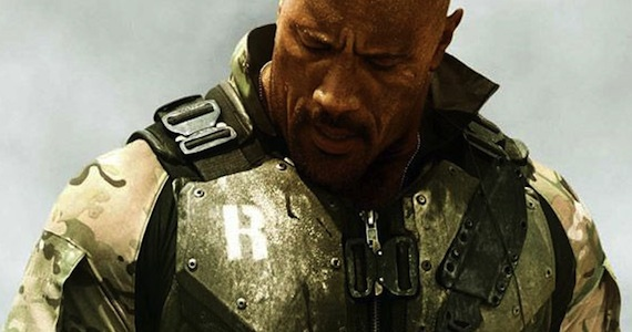 Dwayne Johnson Roadblock GI Joe 2