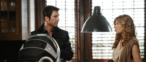 Dylan McDermott returning to AHS McDermott and Britton e1350586975455 Dylan McDermott returning for American Horror Story 2