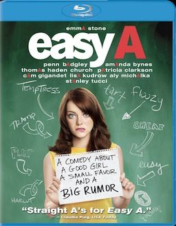 Easy A DVD Blu ray box art DVD/Blu ray Breakdown: December 21st, 2010