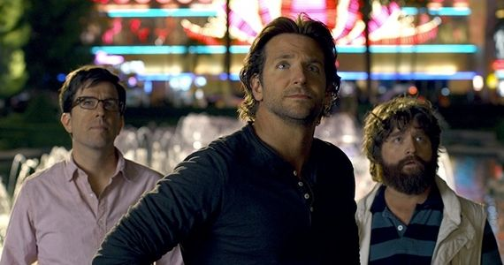 Ed Helms Bradley Cooper and Zach Galifianakis in The Hangover Part III The Hangover Part III: Discussing The Wolfpacks Final Adventure With Cast & Crew