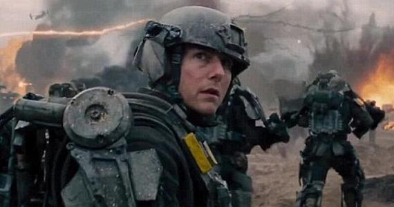 Edge of Tomorrow Cruise 2 Edge of Tomorrow Preview Footage Description: Awe At Tom Cruises Many Deaths