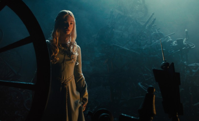Elle Fanning in Maleficent 700x425 Maleficent Hi Res Images Bring Sleeping Beauty to Life