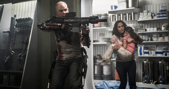 Elysium Reviews starring Matt Damon Jodie Foster Sharlto Copley and Alice Braga Elysium Review