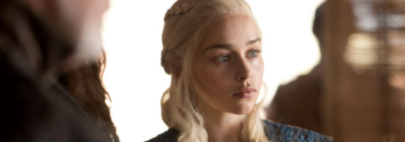 Emilia Clarke in Game of Thrones The Rains of Castamere Game of Thrones Season 3 Rains of Castamere Review   Red Wedding [Spoilers]