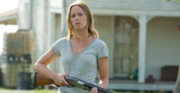 Emily Blunt in Looper Batman V Superman Rumor Patrol: Emily Blunt Role & Jim Gordon Appearance?