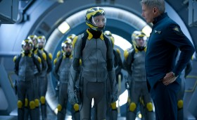 Enders Game Dragon Army and Colonel Graff 280x170 Enders Game: New Clip, Images & Poster Highlight Battle School Life