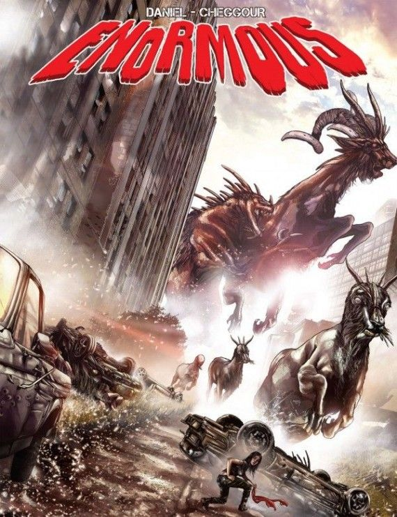 Enormous Comic Book Movie 570x741 'Trollhunter' Director To Adapt Monster Apocalypse Comic 'Enormous'