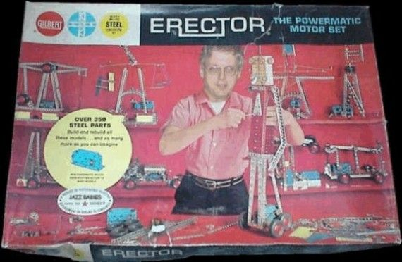Erector Set box 570x372 Erector Set Movie On The Way