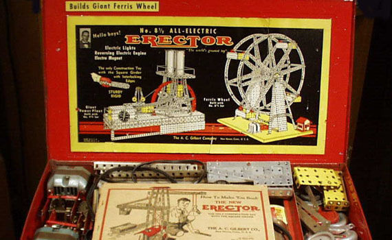 Erector Set movie Erector Set Movie On The Way