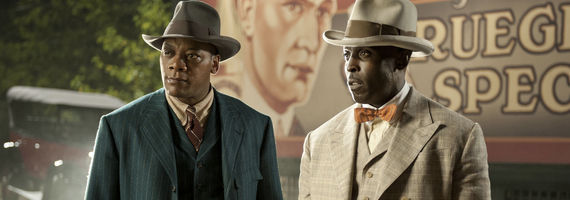 Eric LaRay Harvey and Micheal Kenneth Williams in Boardwalk Empire Two Imposters Boardwalk Empire Season 3, Episode 11 Review – Unexpected Surprises