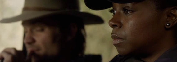 Erica Tazel and Timothy Olyphant in Justified Get Drew Justified Season 4, Episode 10 Review – There is No Plan C