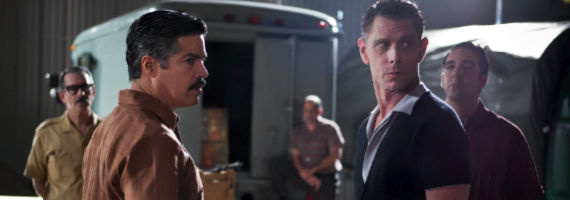 Esai Morales and Jaime Harris in Magic City Adapt or Die Magic City Season 2, Episode 3 Review – Natural Selection