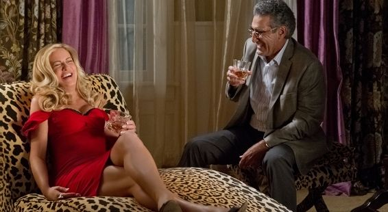 Eugene Levy and Jennifer Coolidge in American Reunion American Reunion Review