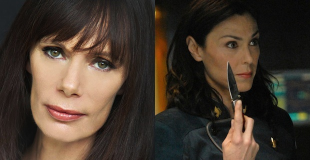 Eugenie Bondurant Michelle Forbes Cast Hunger Games Mockingjay Movie News Wrap Up: Hunger Games: Mockingjay, The Stand and More