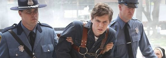 Evan Peters in American Horror Story Asylum Welcome to Briarcliff American Horror Story: Asylum Season Premiere Review