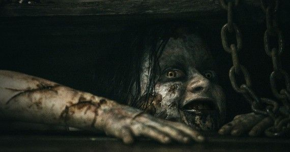 Evil Dead Trailer 2013 570x300 Sam Raimi Talks Re imagining Oz & Why He Cant Watch Amazing Spider Man