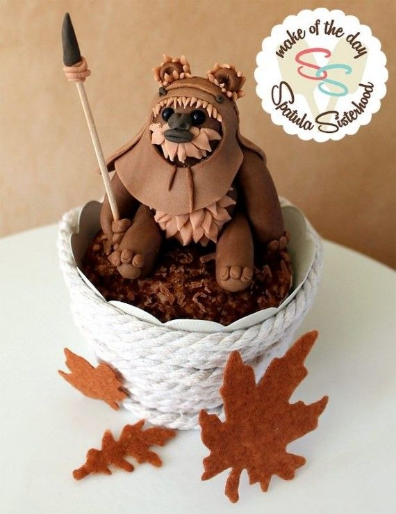 Ewok Cake 570x739 SR Geek Picks: How Oblivion Shouldve Ended, Superhero Life Expectancies & More