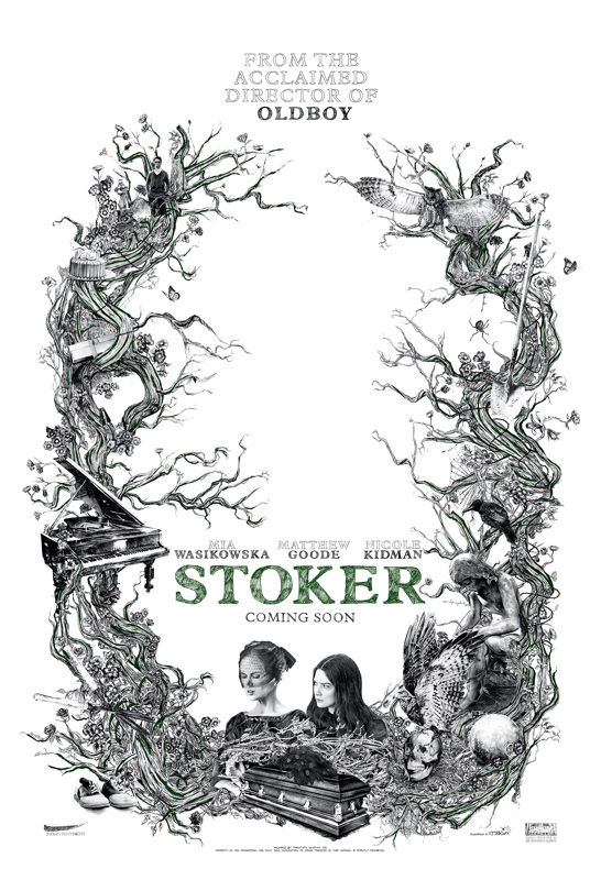 Exclusive Stoker Empire Poster Stoker Unleashes Unnerving Preview Video and Poster