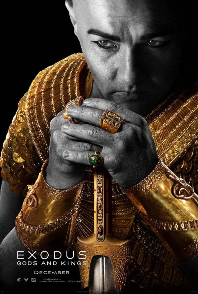 Exodus Gods and Kings Poster Edgerton 691x1024 Exodus: Gods and Kings Trailer and Posters