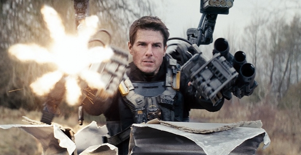 Exoskeleton Armor in Edge of Tomorrow Edge of Tomorrow Review