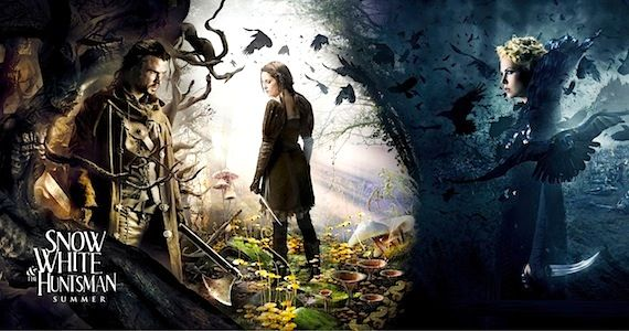 Fairytale Round Up Snow White and the Huntsman Oz the Great and Powerful and Mirror Mirror Fairytale Movie Round Up: 'Snow White' Banner, Bruce Campbell out of 'Oz,' & 'Mirror, Mirror' Rating