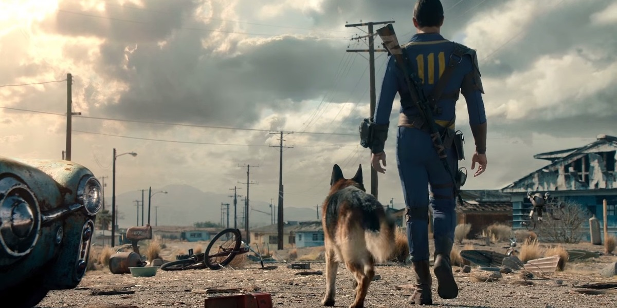 fallout 4 liveaction trailer the wanderer roams around