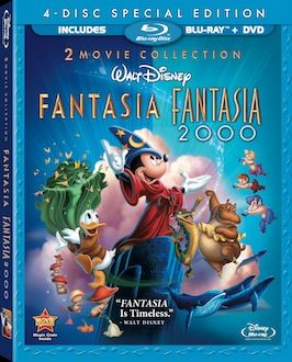 Fantasia Blu ray box art 15 Must Own Blu rays of 2010