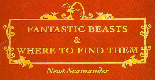 Fantastic Beasts and Where to Find Them book cover Warner Bros. Adapting Harry Potter Spinoff Fantastic Beasts & Where to Find Them as Movie Trilogy