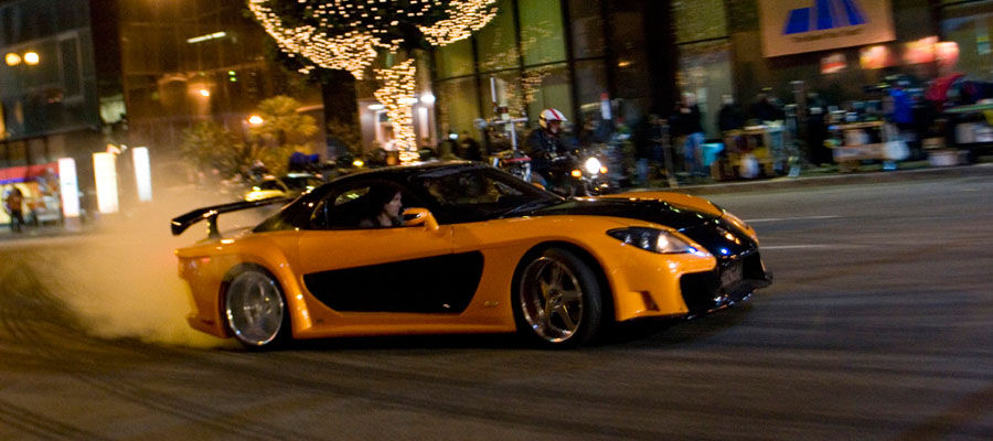 Fast Furious Tokyo Drift Han Mazda RX7