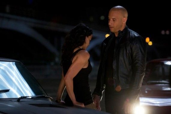 Fast and Furious 6 Image Dom and Letty 570x379 Fast & Furious 6: New Photo of Michelle Rodriguez as Letty