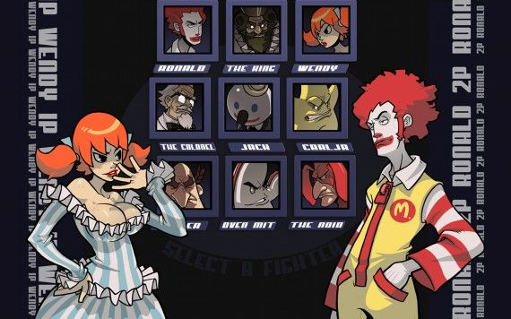 Fast food street fighters 570x356 Fast food street fighters