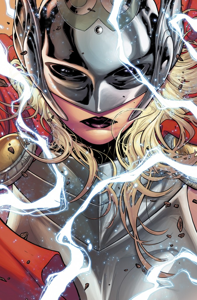 Female THOR 001 cover 674x1024 Marvel Announces That A Female Character Will Be The New Thor