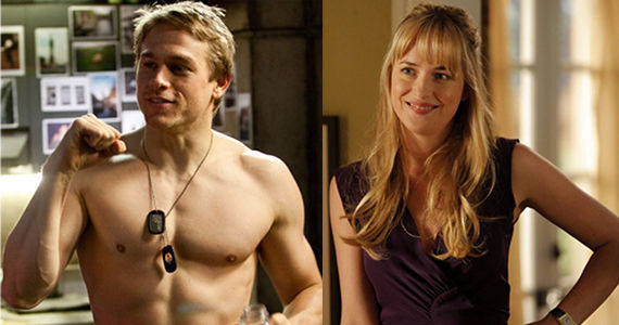 Fifty Shades of Grey Movie Charlie Hunnam and Dakota Johnson Fifty Shades of Grey Movie Casts Charlie Hunnam & Dakota Johnson as Leads