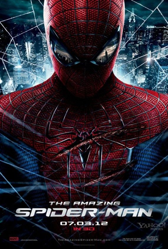 Final Amazing Spider Man Movie Poster 570x845 Final The Amazing Spider Man Movie Poster