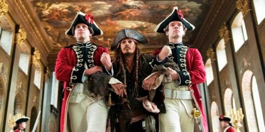 First Clip from Pirates of the Caribbean On Stranger Tides First Pirates of the Caribbean 4 Clip: Captain Jack Runs Amok