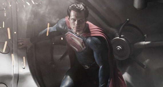 First Image of Henry Cavill as Superman in Man of Steel First Image of Henry Cavill as Superman in Man of Steel