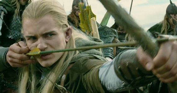 First Look at Legolas in The Hobbit First Look at Legolas in The Hobbit: There and Back Again