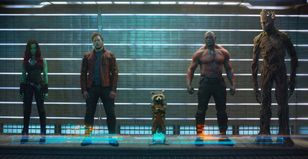 First Official Guardians of the Galaxy Cast Photo No Guardians of the Galaxy Trailer During Super Bowl [Updated]