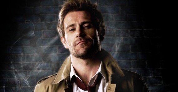 First Official Image of Matt Ryan as Constantine 570x294 Constantine Trailer: Hellblazer Comes to Television
