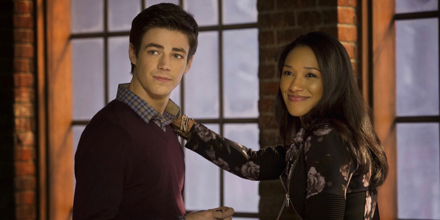 Barry and Iris in The Flash