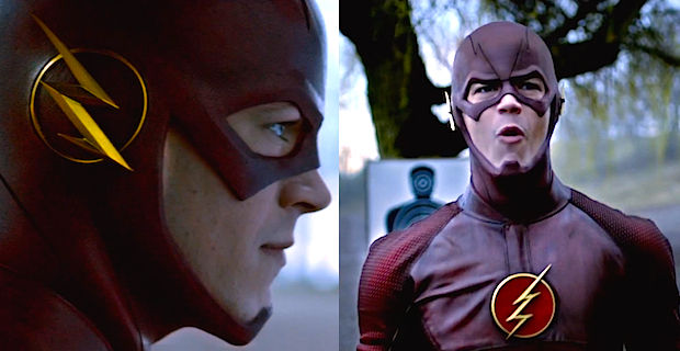 Flash Costume Grant Gustin Trailer Early Reactions to Gotham & The Flash; David Nutter Talks Directing Flash Pilot
