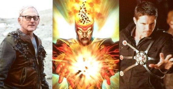 the flash burning series