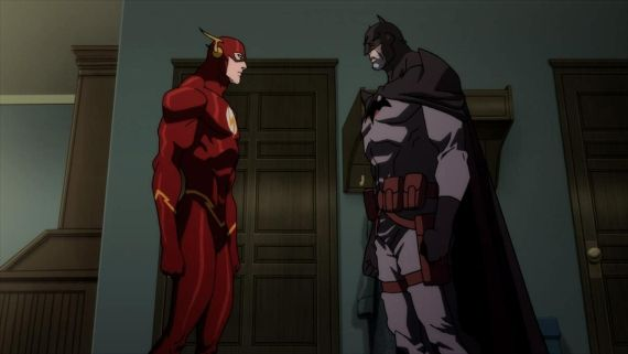 Flashpoint Paradox Flash Batman Justice League: Flashpoint Paradox Extended Preview: History of the Flash