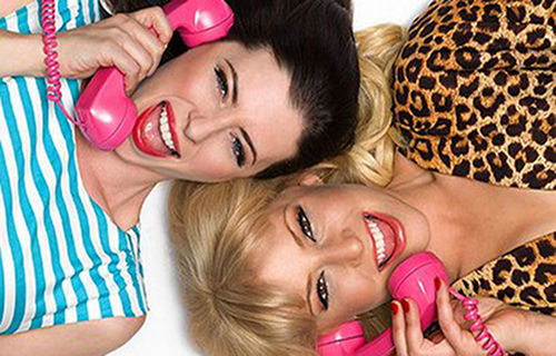 For a Good Time Call starring Lauren Miller and Ari Graynor