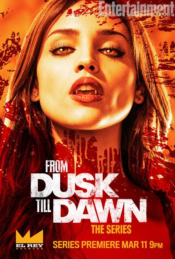 From Dusk Till Dawn poster From Dusk Till Dawn: The Series Teaser Trailer & Poster