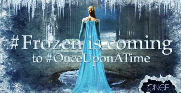 Frozen OnceUponaTime Frozen Heads to Once Upon a Time in Season 4